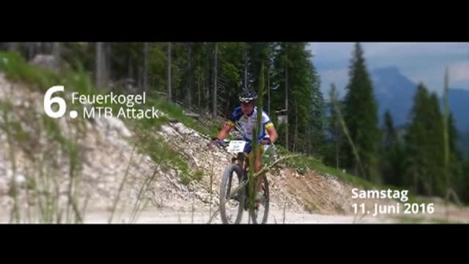 MTB Attack 2016 - am 11. Juni in Ebensee
