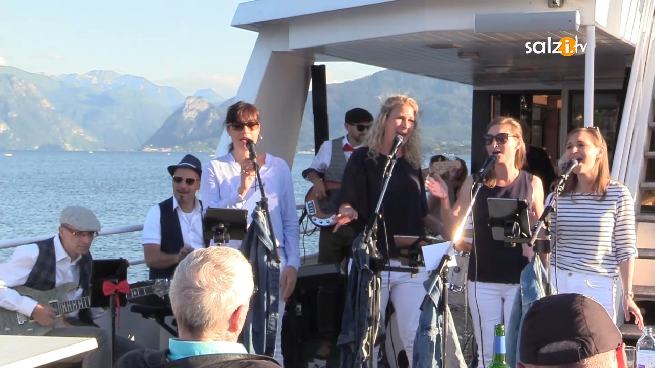 Jazz on the lake mit Tante Emmas Combo